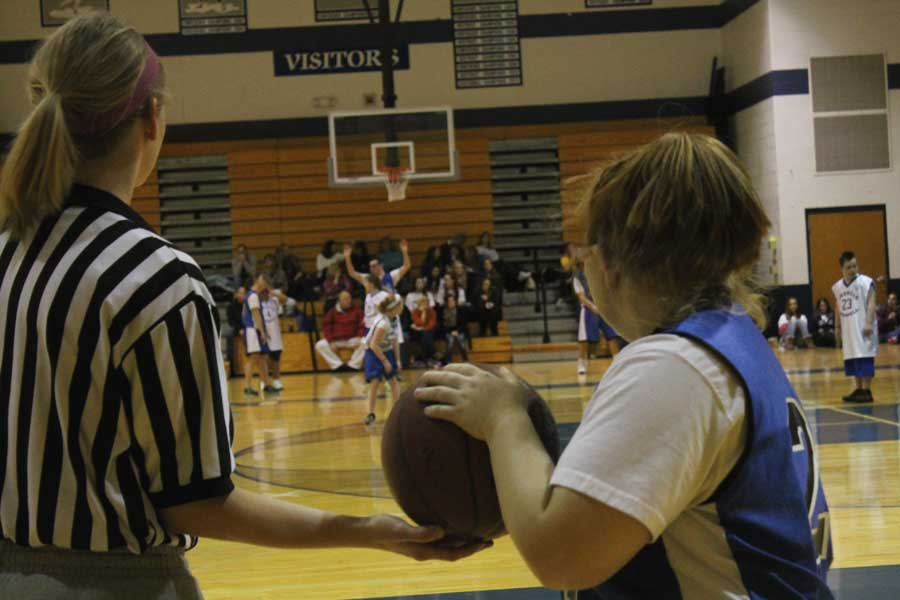 Special Olympics Kids Basketball Game