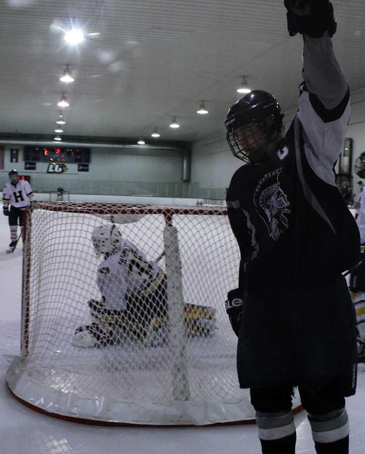 Varsity+Hockey+dominates+Holt+14-2+