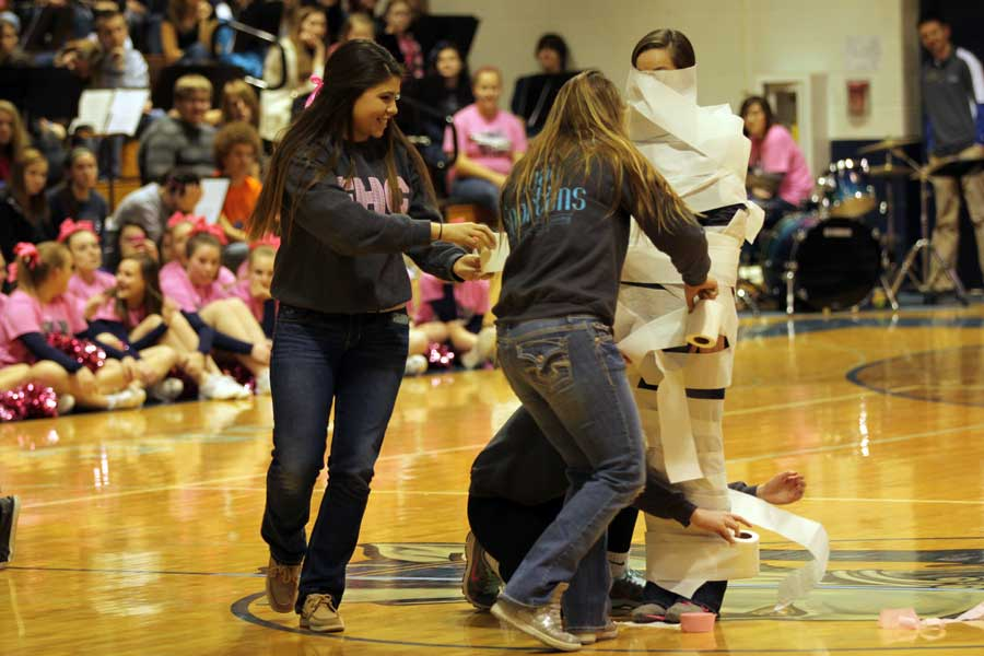 FHC gets Rowdy at the annual Winter Pep Assembly
