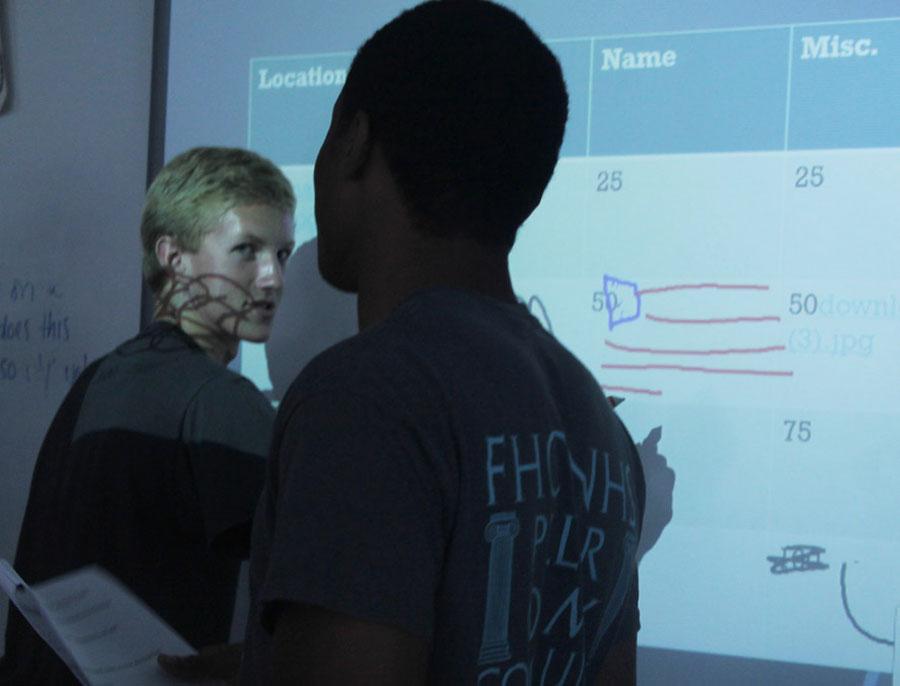 Psychology students present brain projects