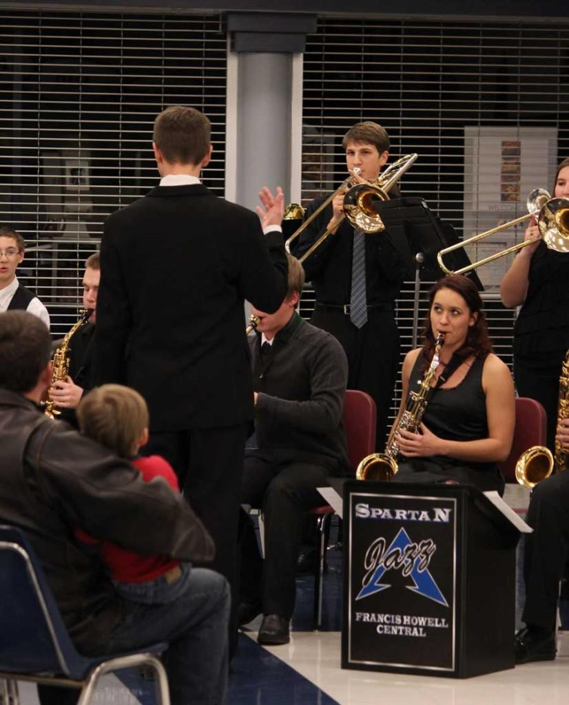 Band performs for Fine Arts Festival