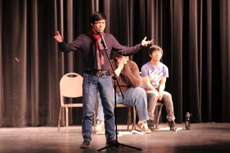 Slammed! Wash U poets entertain students