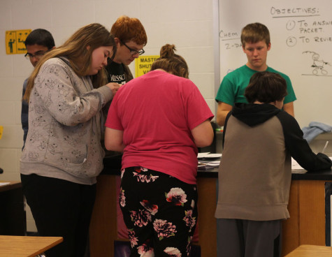 Chem club makes pennies silver and gold