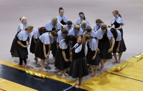 Winter Guard makes its preview