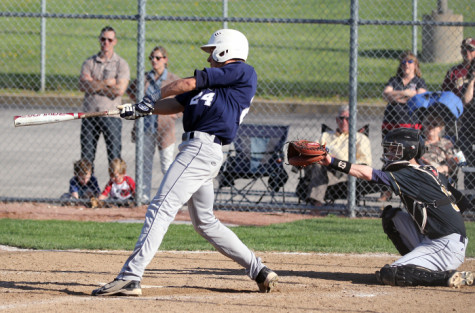 Varsity Baseball endures a loss to Holt