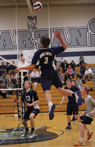 Varsity Volleyball faces defeat to Howell