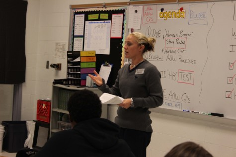 Ms. Leake announced as new girls basketball coach