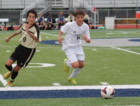 JV boys soccer defeats Francis Howell North