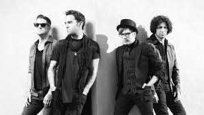 From left to right: Andy Hurley, Pete Wentz, Patrick Stump, Joe Trohman