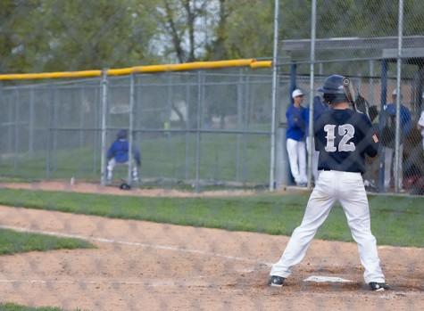 Freshman Spartans baseball team  play against Howell