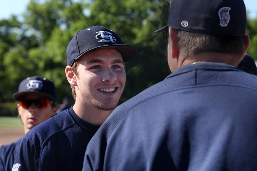Spartan baseball Herdts the Pattonville Pirates