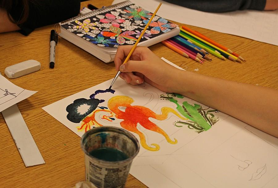 Art+students+pursue+their+passions