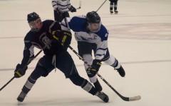 Varsity ice hockey dominates the rink