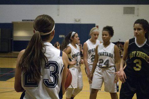 Freshman girls earn first victory