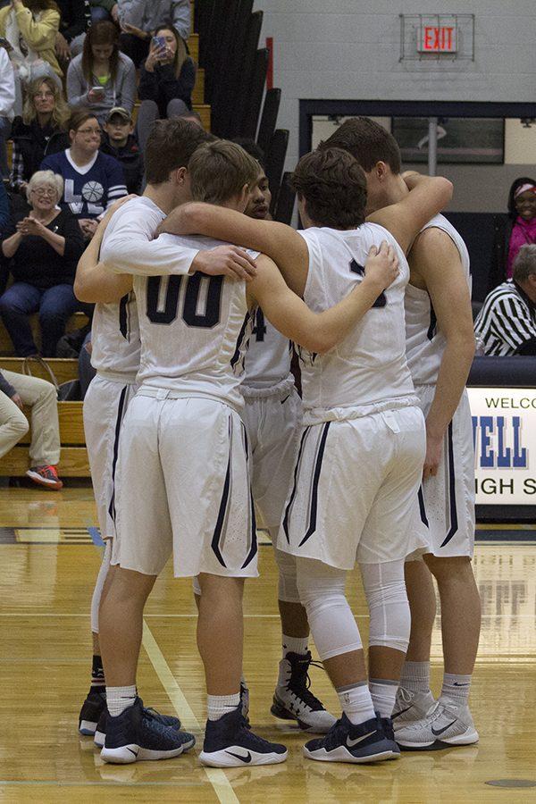 Varsity boys basketball take on Timberland