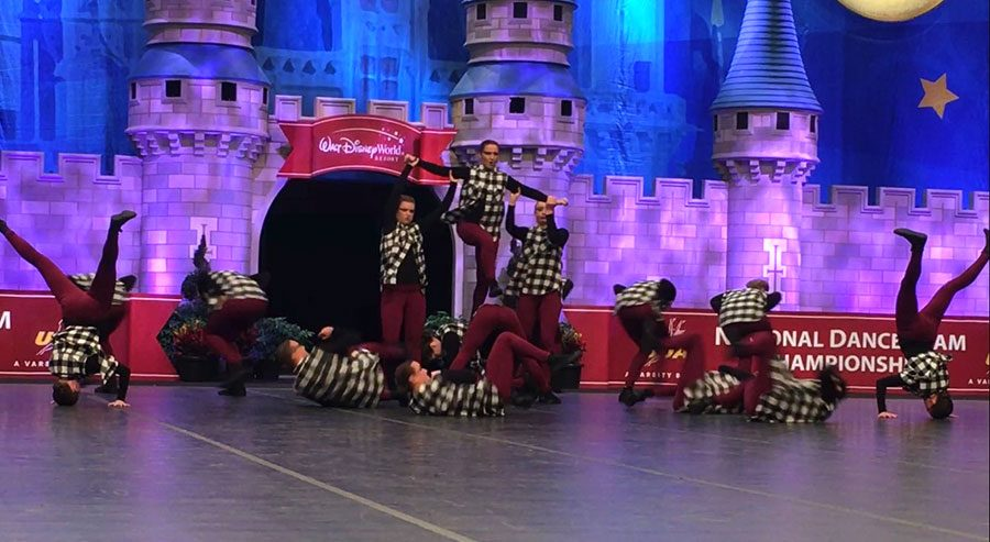 The Sensations continued their rise in national competitions, taking sixth place at the Universal Dance Association Medium Varsity Hip Hop competition the weekend of Feb. 2-4. The dance squad has improved its placing every year since 2013.