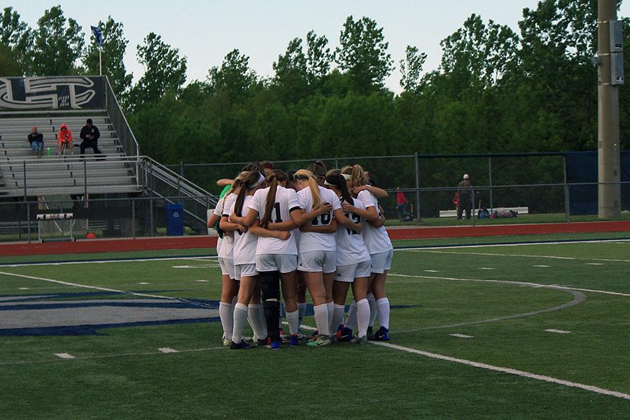 Senior Girls Soccer night