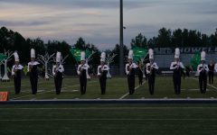 At the performance preview, the band debuted their show the