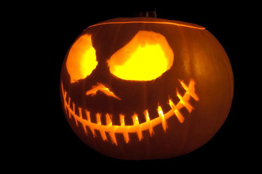 Jack-o-lantern, courtesy of  flicker user wwarby.