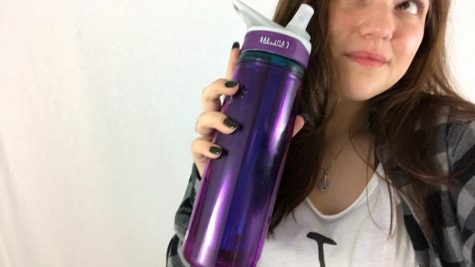 Always have to have a water bottle on me to keep me hydrated throughout the day.