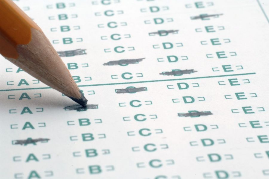 The ACT is a stressful, tedious test that students are required to take.
