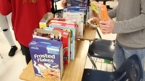 Cereal club at FHC