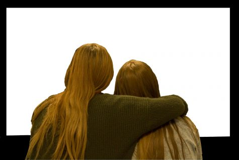 Two girls attend a movie. Movies do not tend to cater to viewers who are not straight. The gallery offers a collection of good books, movies, and TV shows featuring non-straight characters.