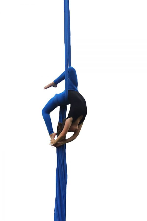 Suppressing stress with silks