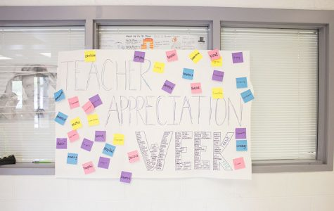 Teacher appreciation timelapse