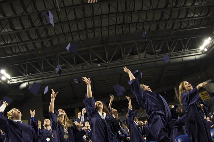 Graduation in photos