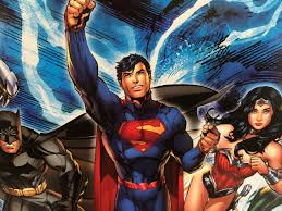 DC's top 3 superheroes; Wonder Woman, Superman, and Batman, stand ready to fight crime. Superheroes have always presented a sense of faith and hope for the public.