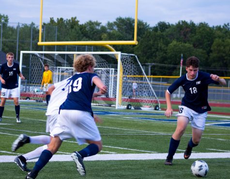 Boys soccer beat rival team