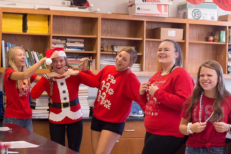 Happy students, happy holidays