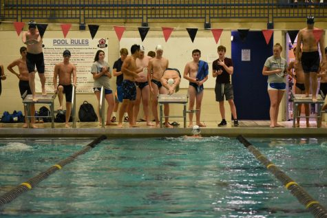 The Swim Team competed in the Jaguar Invitational this weekend. The members feel the team bonded at this event.
