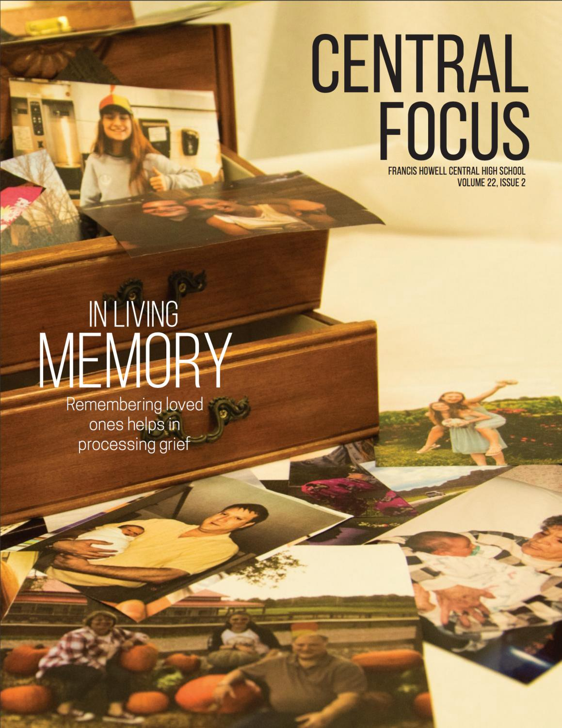 The cover from the Central Focus' October 2018 issue.