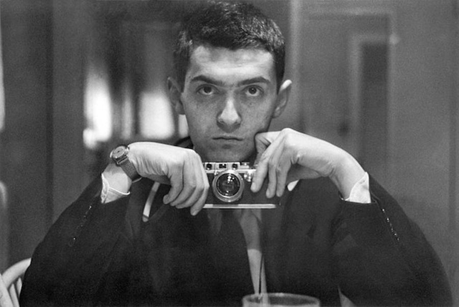 Stanley+Kubrick+taking+a+selfie+before+it+was+cool.+He+is+the+second+most+influential+director.
