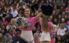 Pink-out pep assembly