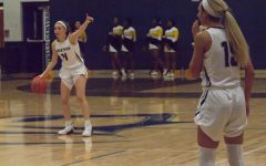 Varsity girls basketball fights for the final time