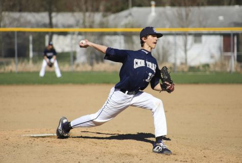 The boys baseball team claims their pitching to be one of their best assets.