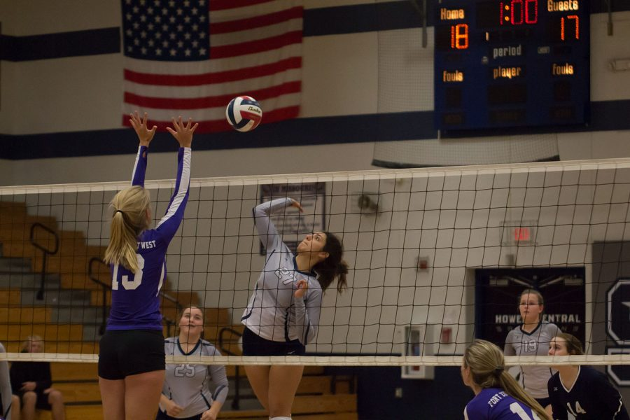 JV Volleyball Digs Deep Against FZW