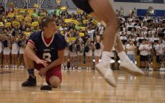Early Morning Pep Rally Draws News Attention