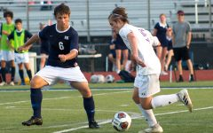 JV soccer earns first conference victory