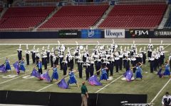 The Spartan Regiment performs at Bands of America on Friday, Oct.18.