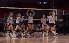 Volleyball Battles for State