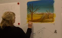 Learning by Viewing in Painting Class