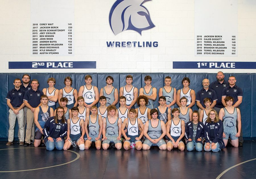 Spartans Come in Fifth at Wrestling GAC's