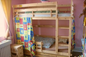 Behold, the bunk: a bed to tower above all beds.