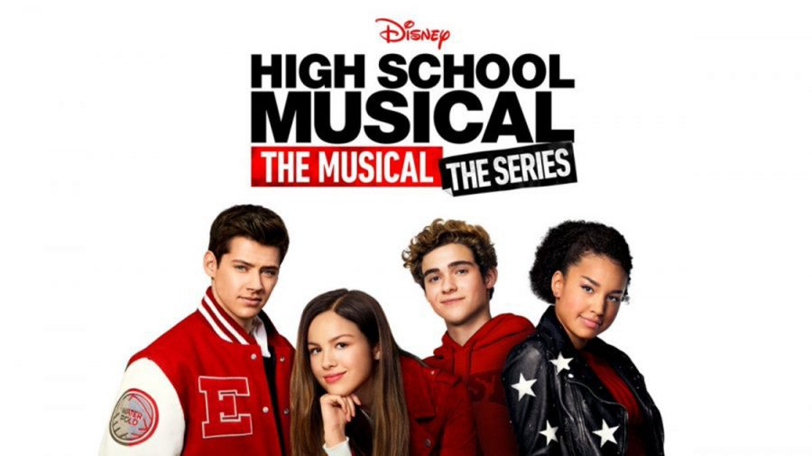 High School Musical the Musical the Series advertisement poster redying the audience for the Disney+ launch. This show is mostly targeted towards teenagers due to the subjects it covers.