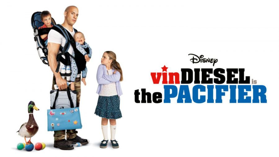 Vin+Diesel+stars+in+the+2005+hit+%22The+Pacifier%2C%22+which+Zoe+Michals+recommends+as+a+movie+to+watch+as+you+are+stuck+inside.