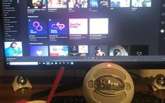 A simple setup of ice cream and music enjoyment. Lots of new music has been released in the last few weeks.